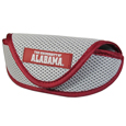 Alabama Crimson Tide Soft Sport Glasses Case - Our officially licensed Alabama Crimson Tide soft sport glasses case has microfiber interior to prevent scratches and a velcro closure to secure the glasses. The sporty mesh material and colorful logo finishes off this fashionable and functional case. Thank you for shopping with CrazedOutSports.com