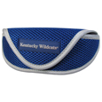 Kentucky Wildcats Soft Sport Glasses Case - Our officially licensed Kentucky Wildcats soft sport glasses case has microfiber interior to prevent scratches and a velcro closure to secure the glasses. The sporty mesh material and colorful logo finishes off this fashionable and functional case. Thank you for shopping with CrazedOutSports.com