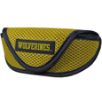 Michigan Wolverines Soft Sport Glasses Case - This officially licensed Michigan Wolverines soft sport glasses case has microfiber interior to prevent scratches and a velcro closure to secure the glasses. The Michigan Wolverines Soft Sport Glasses Case has sporty mesh material and colorful logo finishes off this fashionable and functional case. Thank you for shopping with CrazedOutSports.com