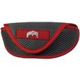 Ohio St. Buckeyes Soft Sport Glasses Case - Our officially licensed Ohio St. Buckeyes soft sport glasses case has microfiber interior to prevent scratches and a velcro closure to secure the glasses. The sporty mesh material and colorful logo finishes off this fashionable and functional case. Thank you for shopping with CrazedOutSports.com