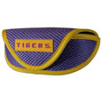LSU Tigers Soft Sport Glasses Case - This officially licensed LSU Tigers soft sport glasses case has microfiber interior to prevent scratches and a velcro closure to secure the glasses. The LSU Tigers Soft Sport Glasses Case has a sporty mesh material and colorful logo finishes off this fashionable and functional glasses case. Thank you for shopping with CrazedOutSports.com
