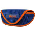 Florida Gators Soft Sport Glasses Case - Our officially licensed Florida Gators soft sport glasses case has microfiber interior to prevent scratches and a velcro closure to secure the glasses. The sporty mesh material and colorful logo finishes off this fashionable and functional case. Thank you for shopping with CrazedOutSports.com