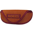 Virginia Tech Hokies Soft Sport Glasses Case - Our officially licensed Virginia Tech Hokies soft sport glasses case has microfiber interior to prevent scratches and a velcro closure to secure the glasses. The sporty mesh material and colorful logo finishes off this fashionable and functional case. Thank you for shopping with CrazedOutSports.com