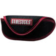 S. Carolina Gamecocks Soft Sport Glasses Case - Our officially licensed S. Carolina Gamecocks soft sport glasses case has microfiber interior to prevent scratches and a velcro closure to secure the glasses. The sporty mesh material and colorful logo finishes off this fashionable and functional case. Thank you for shopping with CrazedOutSports.com