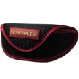 Florida St. Seminoles Soft Sport Glasses Case - Our officially licensed Florida St. Seminoles soft sport glasses case has microfiber interior to prevent scratches and a velcro closure to secure the glasses. The sporty mesh material and colorful logo finishes off this fashionable and functional case. Thank you for shopping with CrazedOutSports.com