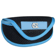 N. Carolina Tar Heels Soft Sport Glasses Case - Our officially licensed N. Carolina Tar Heels soft sport glasses case has microfiber interior to prevent scratches and a velcro closure to secure the glasses. The sporty mesh material and colorful logo finishes off this fashionable and functional case. Thank you for shopping with CrazedOutSports.com