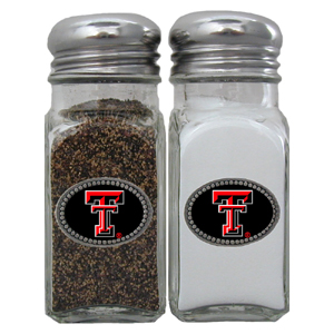 Salt & Pepper Shakers - Texas Tech Raiders - Our collegiate salt and pepper set is a great addition to any tailgating event or backyard BBQ. Thank you for shopping with CrazedOutSports.com