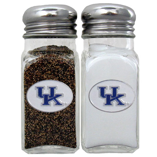 Salt & Pepper Shakers - Kentucky Wildcats - Our collegiate salt and pepper set is a great addition to any tailgating event or backyard BBQ. Thank you for shopping with CrazedOutSports.com