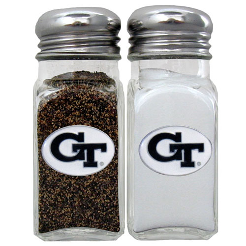 Salt and Pepper Shakers - Georgia Tech Yellow Jackets - Our collegiate Georgia Tech Yellow Jackets salt and pepper set is a great addition to any tailgating event or backyard BBQ. Thank you for shopping with CrazedOutSports.com