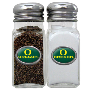 Salt & Pepper Shakers - Oregon Ducks - Our collegiate salt and pepper set is a great addition to any tailgating event or backyard BBQ. Thank you for shopping with CrazedOutSports.com