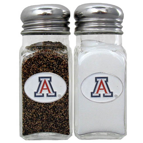 Salt and Pepper Shakers - Arizona Wildcats - Our Arizona Wildcats collegiate salt and pepper set is a great addition to any tailgating event or backyard BBQ. Thank you for shopping with CrazedOutSports.com