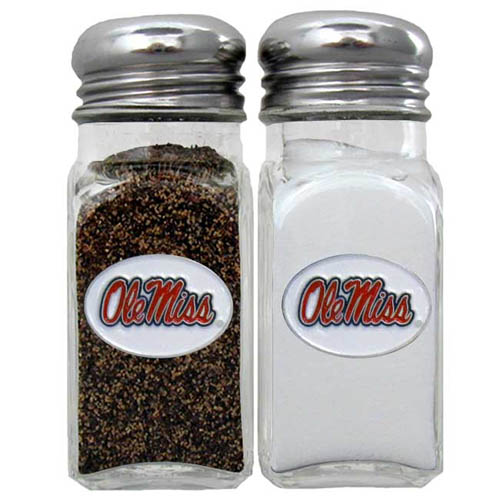 Salt and Pepper Shakers - Mississippi Rebels - Our collegiate salt and pepper set is a great addition to any tailgating event or backyard BBQ. Thank you for shopping with CrazedOutSports.com
