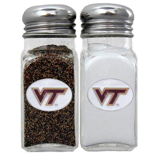 Salt & Pepper Shakers - Virginia Tech Hokies - Our collegiate salt and pepper set is a great addition to any tailgating event or backyard BBQ. Thank you for shopping with CrazedOutSports.com