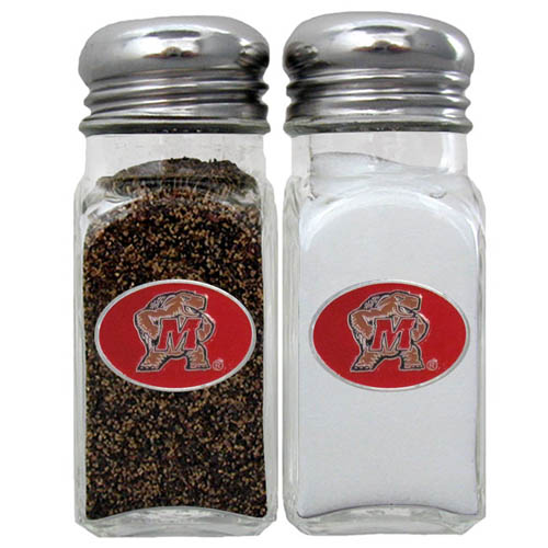 Maryland Terrapins Salt and Pepper Shakers - Our collegiate Maryland Terrapins salt and pepper set is a great addition to any tailgating event or backyard BBQ. Thank you for shopping with CrazedOutSports.com
