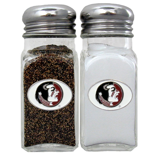 Florida State Seminoles Salt & Pepper Shakers - Our Florida State Seminoles collegiate salt and pepper set is a great addition to any tailgating event or backyard BBQ. Thank you for shopping with CrazedOutSports.com