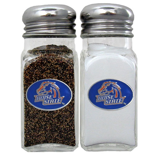 Salt and Pepper Shakers - Boise St. Broncos - Our Boise State Broncos collegiate salt and pepper set is a great addition to any tailgating event or backyard BBQ. Thank you for shopping with CrazedOutSports.com