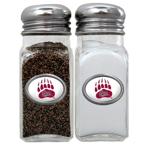 Salt & Pepper Shakers - Montana Grizzlies - Our collegiate salt and pepper set is a great addition to any tailgating event or backyard BBQ. Thank you for shopping with CrazedOutSports.com