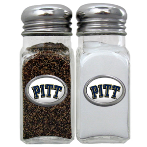 Salt & Pepper Shakers - Pittsburgh Panthers - Our collegiate salt and pepper set is a great addition to any tailgating event or backyard BBQ. Thank you for shopping with CrazedOutSports.com
