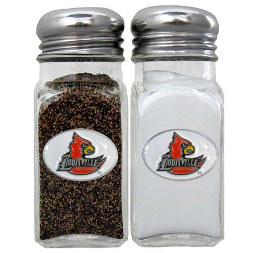 Salt & Pepper Shakers - Louisville Cardinals - Louisville Cardinals salt and pepper set is a great addition to any tailgating event or backyard BBQ. Thank you for shopping with CrazedOutSports.com