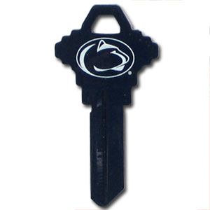 Schlage Key - Penn State Nittany Lions - College house keys are a great way to show school spirit while keeping keys organized. Keys can be cut to fit your home or office Schlage keys (reference pre-fix CQK for Kwikset keys).  Thank you for shopping with CrazedOutSports.com