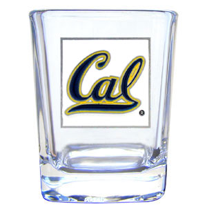 College Collector's Glass - Cal Berkeley - Our  college collectors 2 oz shot glass features the Cal Berkeley Bears school logo sculpted and enameled in fine detail. The glass makes a great gift or collector's item. Check out our entire line of  collegiate products! Thank you for shopping with CrazedOutSports.com