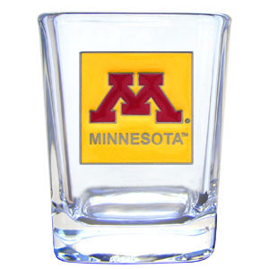 Minnesota Golden Gophers College Collector's 2oz Shot Glass - Minnesota Golden Gophers College Collector's 2 oz shot glass features the school logo sculpted and enameled in fine detail0. The Minnesota Golden Gophers College Collector's 2oz Shot Glass makes a great gift or collector's item. Check out our entire line of collegiate products! Thank you for shopping with CrazedOutSports.com