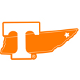Tennessee Volunteers Home State 11 Inch Magnet