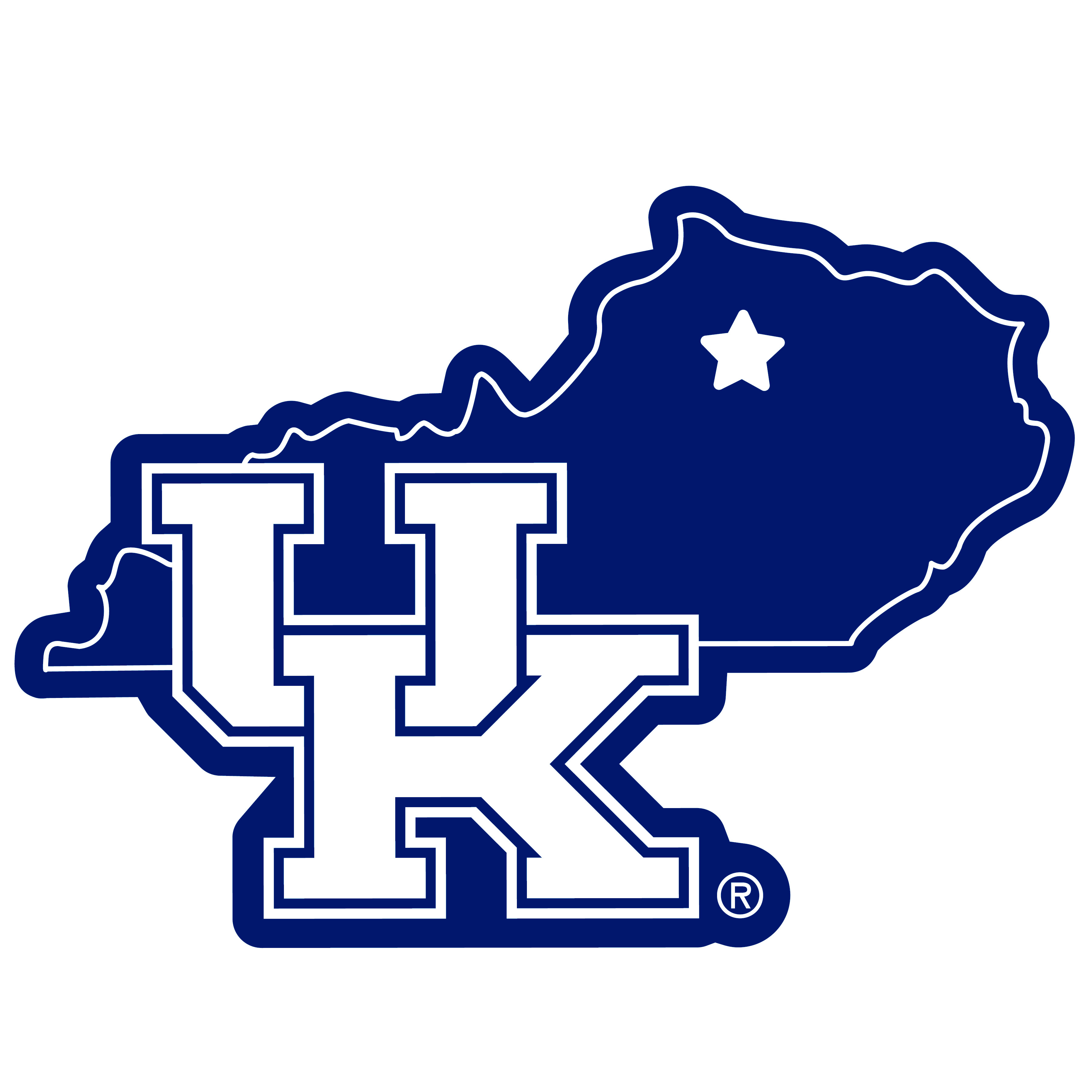 Kentucky Wildcats Home State 11 Inch Magnet - Whether you are caravaning to the game or having a tailgate party make sure you car is wearing its fan gear with our extra large, 11 inch Kentucky Wildcats home state magnets. These striking magnets can be easily placed on for game day and removed without he residue left by decals. The design features a bright state outline with the location of the team highlighted with a football and a large team logo.