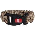 Indiana Hoosiers Camo Survivor Bracelet