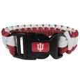 Indiana Hoosiers Survivor Bracelet