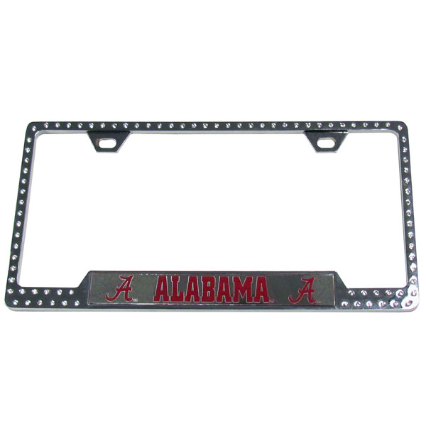 Alabama Crimson Tide  Bling Tag Frame