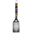 LSU Tigers Tailgater Spatula - Our tailgater spatula really catches your eye with flashy chrome accents and vivid LSU Tigers digital graphics. The 420 grade stainless steel spatula is a tough, heavy-duty tool that will last through years of tailgating fun. The spatula features a bottle opener and sharp serrated edge.