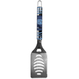 N. Carolina Tar Heels Tailgater Spatula - Our tailgater spatula really catches your eye with flashy chrome accents and vivid N. Carolina Tar Heels digital graphics. The 420 grade stainless steel spatula is a tough, heavy-duty tool that will last through years of tailgating fun. The spatula features a bottle opener and sharp serrated edge.
