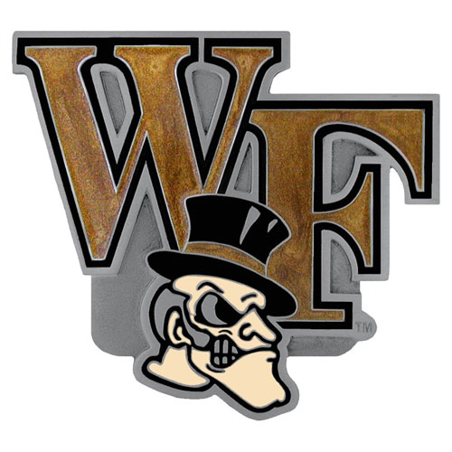 "Wake Forest Hitch Cover - Our collegiate hitch cover is a durable and attractive way to show off your school spirit. The hitch fits a 2"" hitch receiver. Thank you for shopping with CrazedOutSports.com"