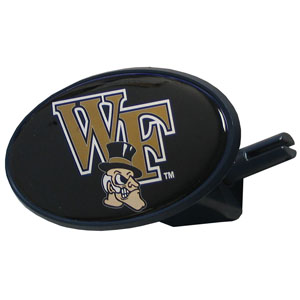 Wake Forest College Hitch  - Strong plastic hitch cover that includes hitch pin and features a school logo dome. Fits class III receivers. Thank you for shopping with CrazedOutSports.com
