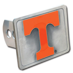 College Trailer Hitch Cover - Tennessee Volunteers - Our College Trailer Hitch Cover is hand painted with 3-D carved logo. Hardware included. Fits standard hitches. Enameled on durable, rust-proof zinc. Fits Class II and Class III hitches. Check out our extensive line of  automotive accessories! Thank you for shopping with CrazedOutSports.com