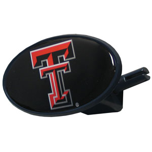 Texas Tech College Hitch Cover - Strong plastic hitch cover that includes hitch pin and features a school logo dome. Fits class III receivers. Thank you for shopping with CrazedOutSports.com