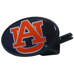 Auburn College Hitch Cover - Strong plastic hitch cover that includes hitch pin and features a Auburn Tigers school logo dome. Fits class III receivers. Thank you for shopping with CrazedOutSports.com