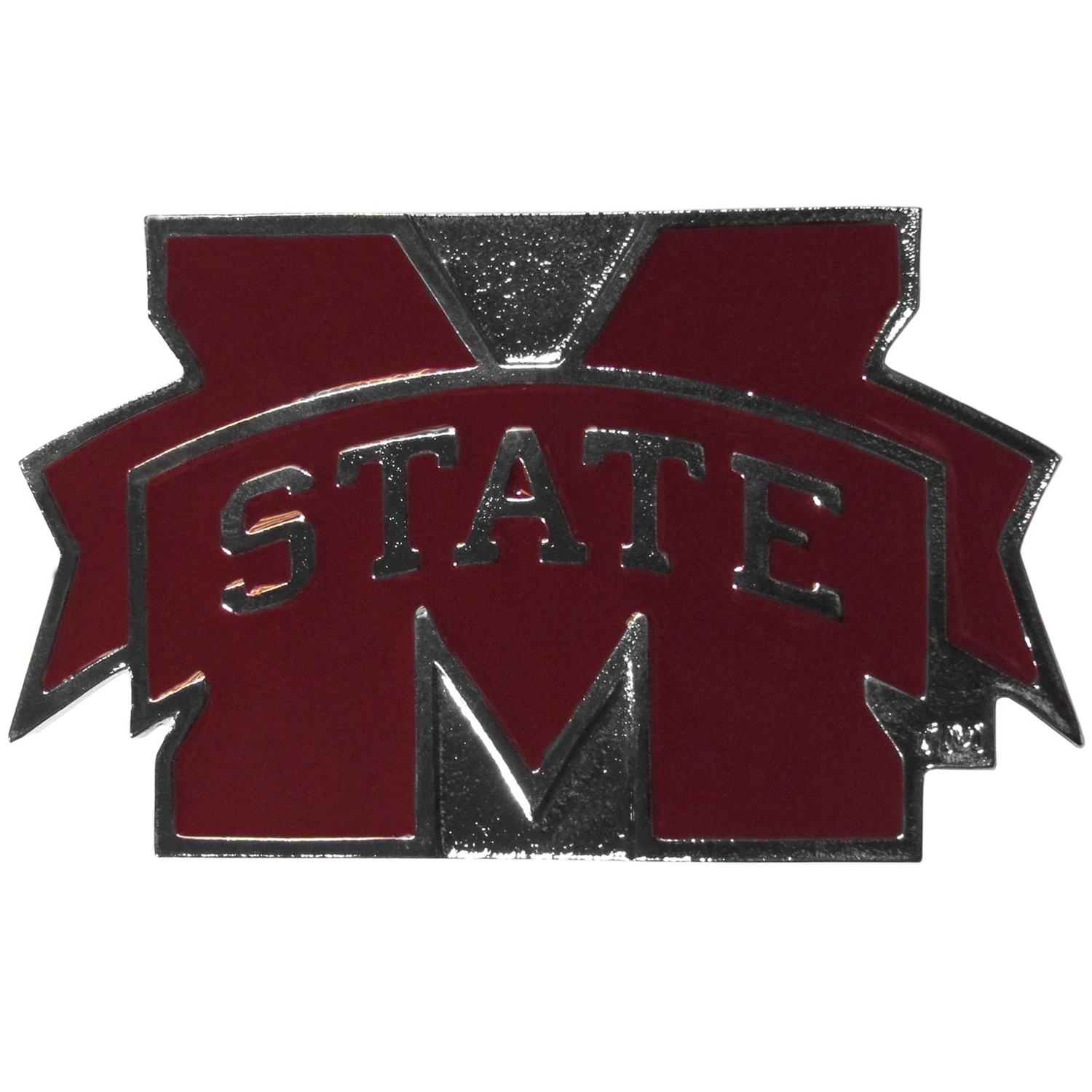 "Collegiate Hitch Cover - Mississippi St. Bulldogs - Our collegiate hitch cover is a durable and attractive way to show off your school spirit. The hitch fits a 2"" hitch receiver. Thank you for shopping with CrazedOutSports.com"