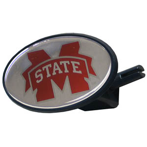 MS St. College Hitch Cover - Strong plastic hitch cover that includes hitch pin and features a school logo dome. Fits class III receivers. Thank you for shopping with CrazedOutSports.com