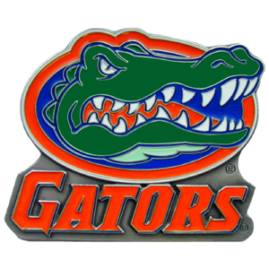 "Collegiate Hitch Cover - Florida Gators - Our collegiate hitch cover is a durable and attractive way to show off your Florida Gators spirit. The hitch fits a 2"" hitch receiver. Thank you for shopping with CrazedOutSports.com"