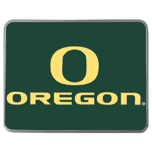 "Collegiate Hitch Cover - Oregon Ducks - Our collegiate hitch cover is a durable and attractive way to show off your school spirit. The hitch fits a 2"" hitch receiver. Thank you for shopping with CrazedOutSports.com"