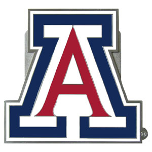 "Collegiate Hitch Cover - Arizona Wildcats - Our collegiate hitch cover is a durable and attractive way to show off your Arizona Wildcats school spirit. The hitch fits a 2"" hitch receiver. Thank you for shopping with CrazedOutSports.com"
