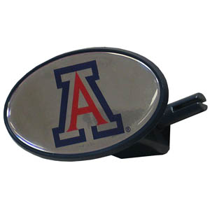 Arizona College Hitch Cover - Strong plastic hitch cover that includes hitch pin and features a school logo dome. Fits class III receivers. Thank you for shopping with CrazedOutSports.com