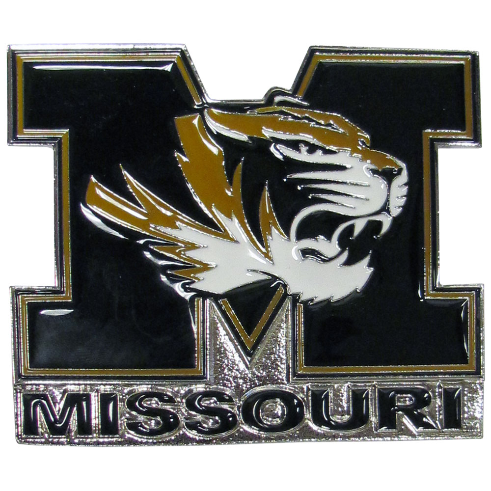 Missouri Tigers Hitch Cover Class III Wire Plugs - Our lighter weight, full-metal hitches are still tougher than your average hitch cover at 1/8 of an inch thick. The heavy-duty cast zinc hitch plate feature the Missouri Tigers logo with enameled detail. The wire hitch plugs are included for the class III hitch receivers.