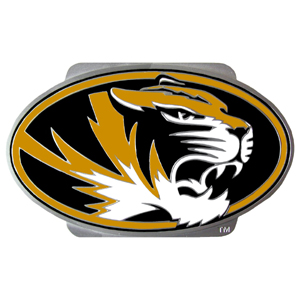 "Collegiate Hitch Cover - Missouri Tigers - Our collegiate hitch cover is a durable and attractive way to show off your school spirit. The hitch fits a 2"" hitch receiver. Thank you for shopping with CrazedOutSports.com"