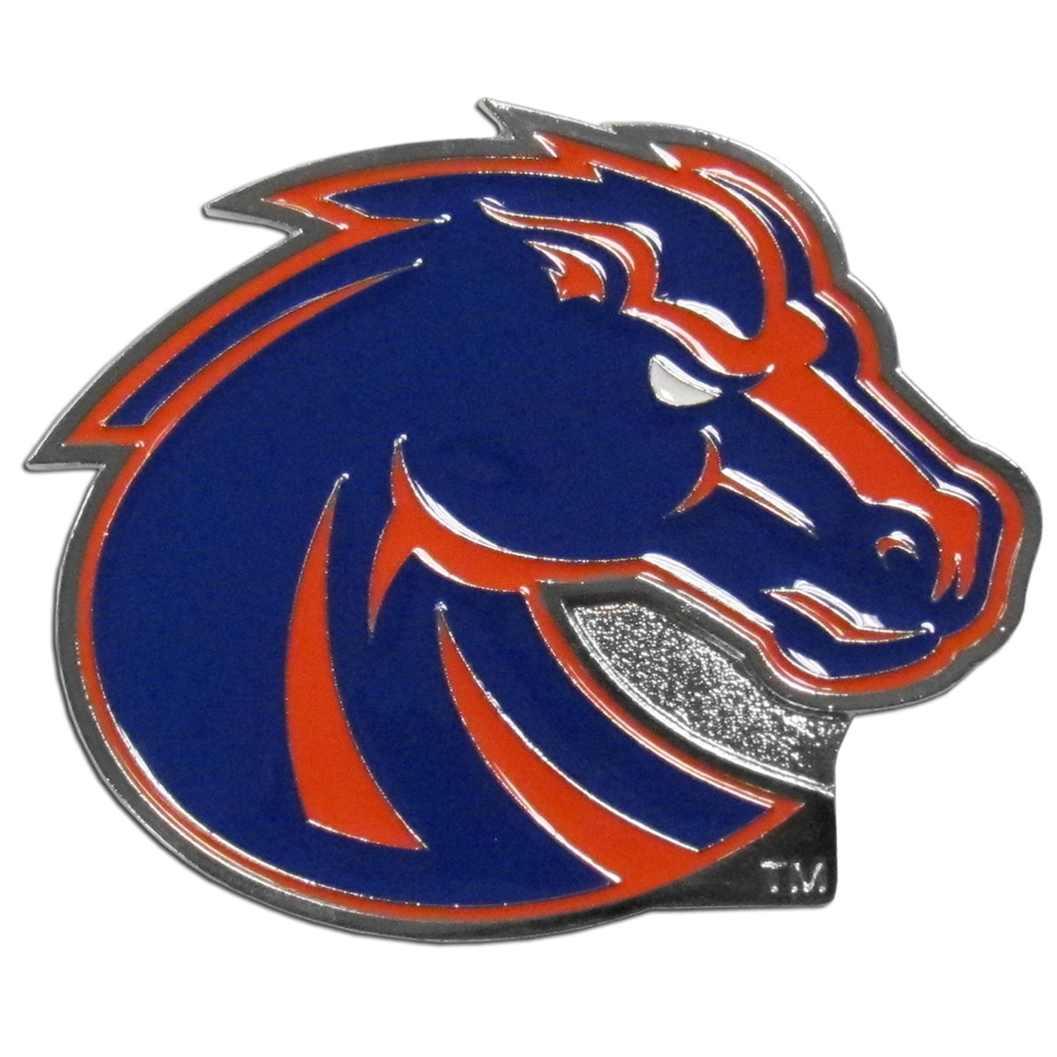 "Collegiate Hitch Cover - Boise St. Broncos - Our collegiate hitch cover is a durable and attractive way to show off your Boise State Broncos spirit. The hitch fits a 2"" hitch receiver. Thank you for shopping with CrazedOutSports.com"