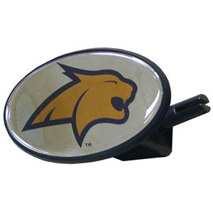 Montana St. College Hitch Cover - Strong plastic hitch cover that includes hitch pin and features a school logo dome. Fits class III receivers. Thank you for shopping with CrazedOutSports.com