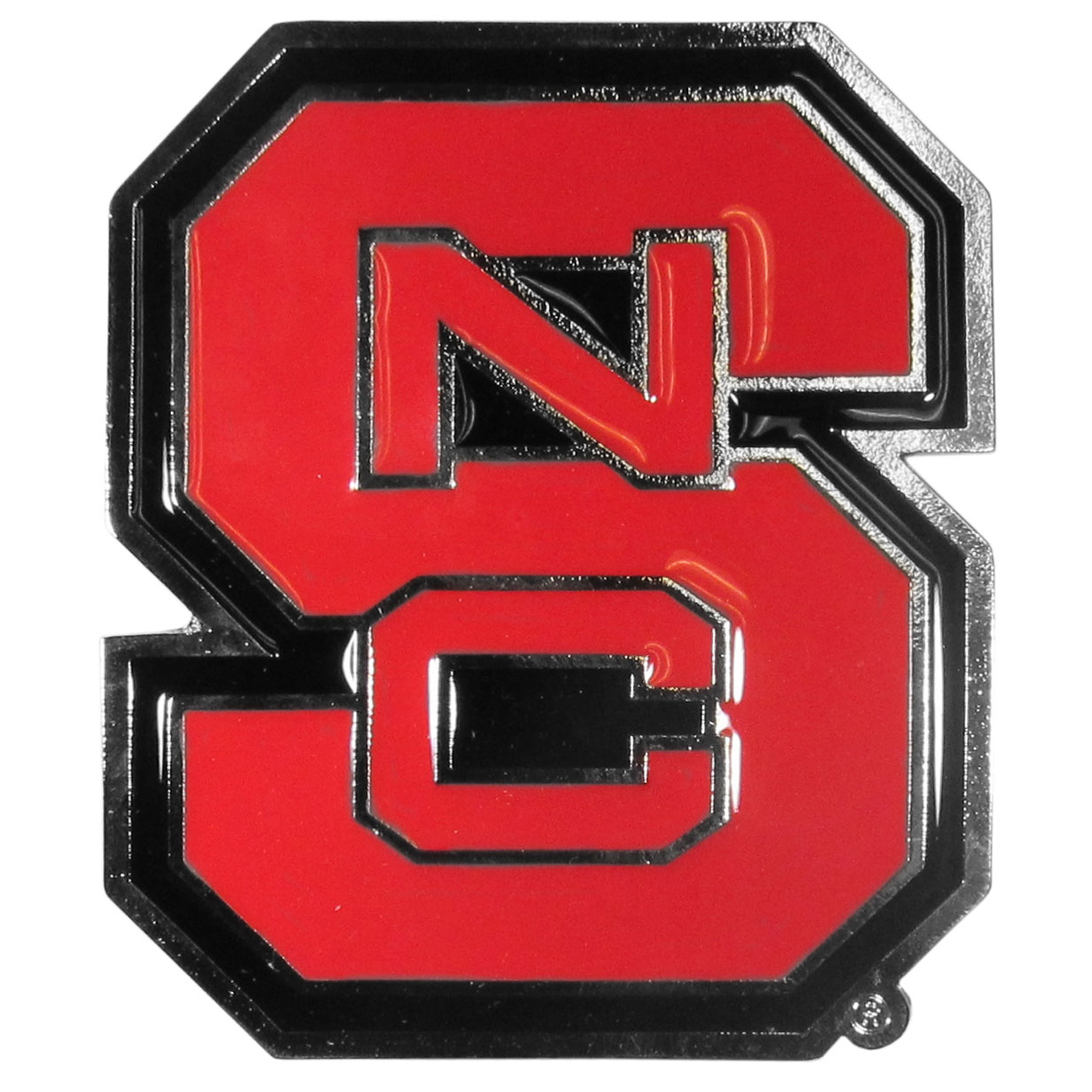 "Collegiate Hitch Cover - N. Carolina St. Wolfpack - Our collegiate hitch cover is a durable and attractive way to show off your school spirit. The hitch fits a 2"" hitch receiver. Thank you for shopping with CrazedOutSports.com"