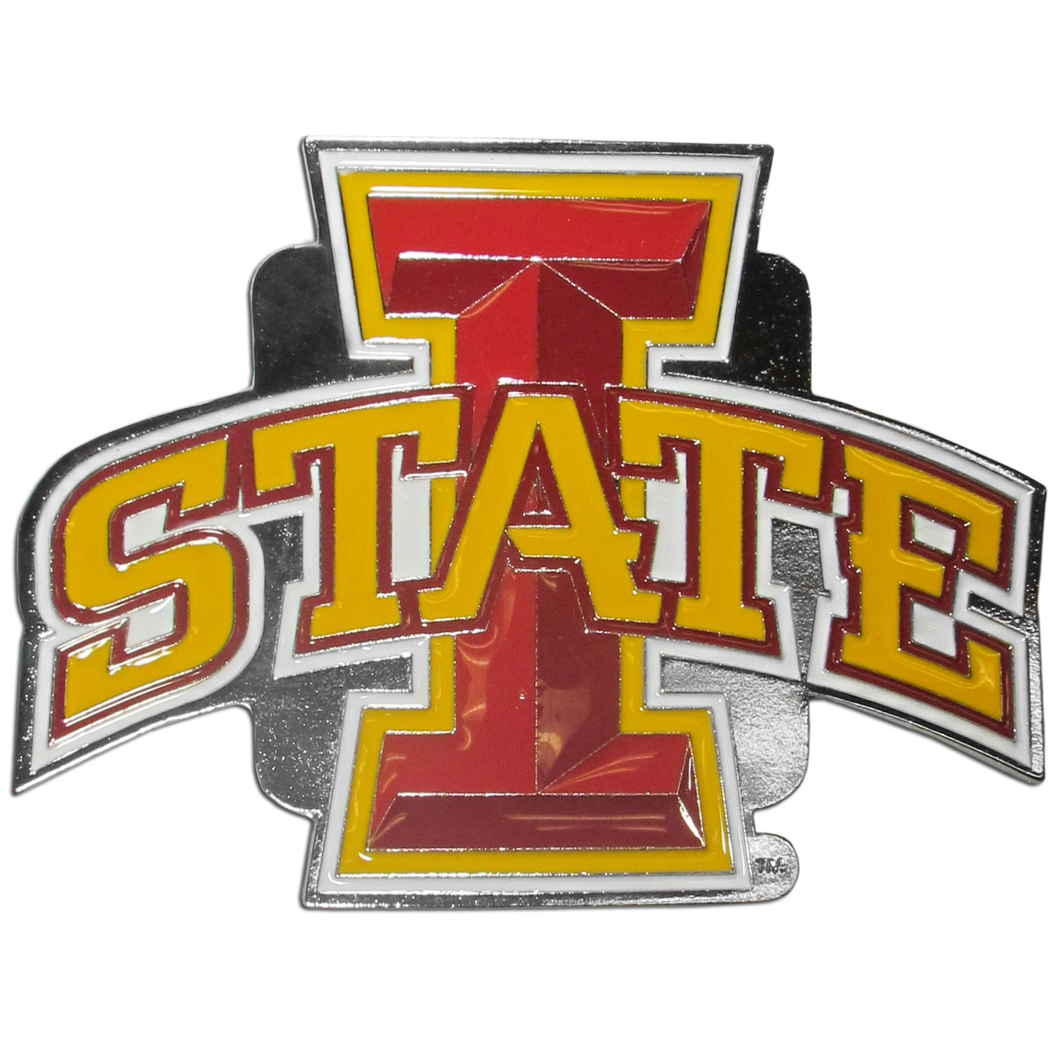 Collegiate Hitch Cover - Iowa St. Cyclones